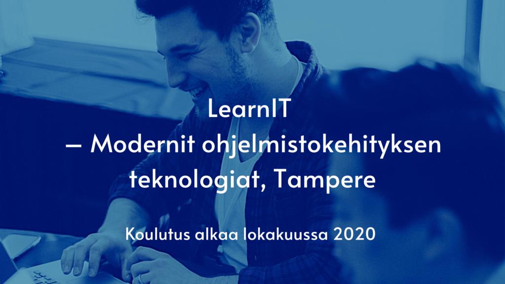 LearnIT, Modernit ohjelmistokehityksen teknologiat, Tampere